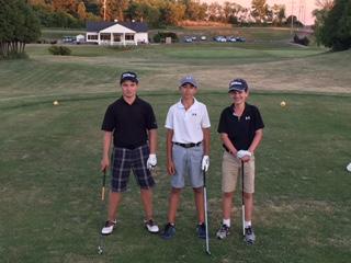 Sean Balardo, Adam McLean and Zach Donovan played 108 holes of golf June 29 dawn to dusk!