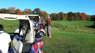 92 golfers supported the tree program fundraiser at Oak Gables SaTURDAY Oct 22