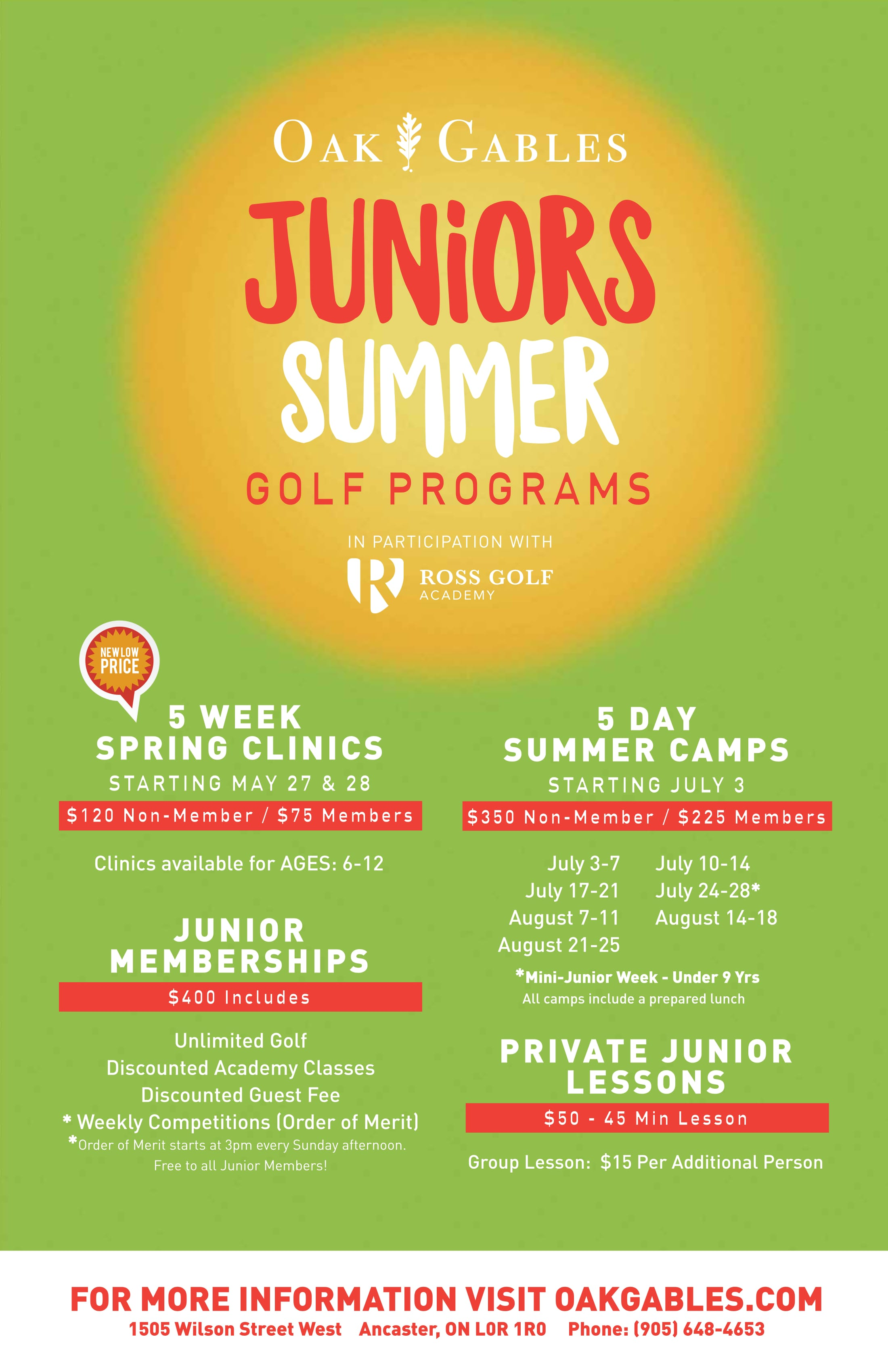 Juniors Summer Poster-1