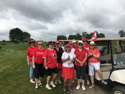 Lots of Fun Canada Day–156 proud Canadians, proud Oak Gables' golfers
