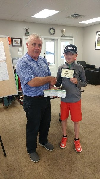 Adam Treffery—congratulations 2017 Oak Gables Juvenile Champion