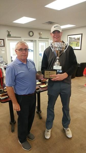 Congratulations Jake Norton 2017 Oak Gables Junior Club Champion