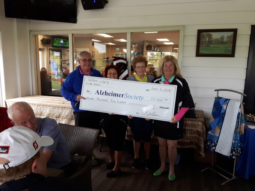 Oak Gables hosts successful Alzheimer Charity Golf Tournament June 6