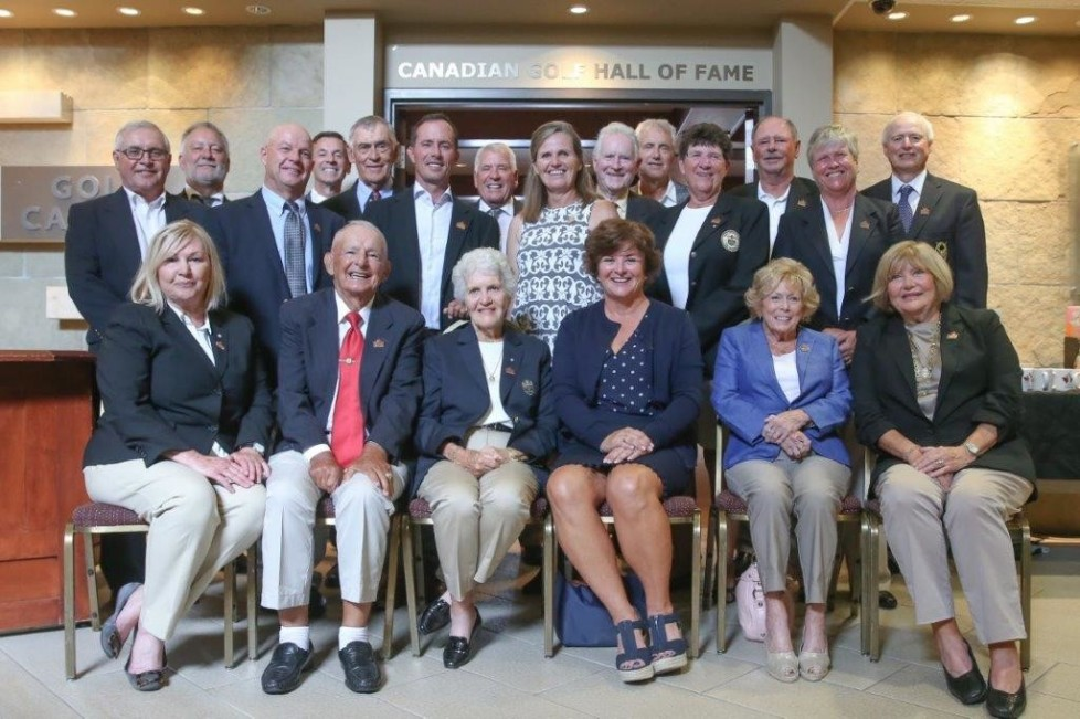 Dear Golf Hall of Fame members, Thank you again for joining us on July 24th. This event brought 20 HOF members (us) together and is the largest ever. Without question an historical Canadian golf moment. Words cannot express how appreciative and how proud I am to be a part of this amazing group.  Thank you. Sincerely, Sandra