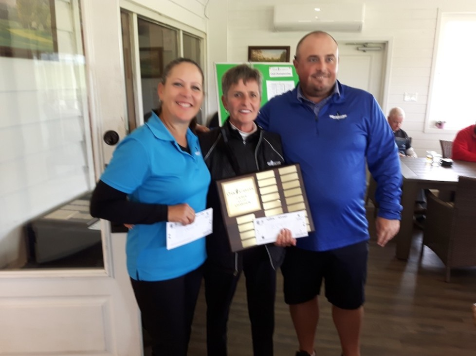Ladies Club Champion for 2019 with the runner-up