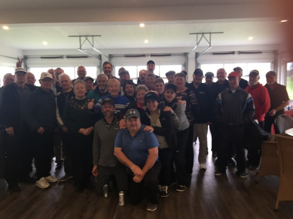 Lots of fun even though the weather didn't cooperate–Nov 2 Scramble